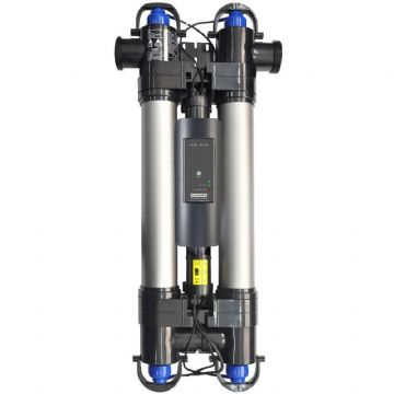 Elecro High Reflection UVC Steriliser - Twin tube up to 130m3 pool